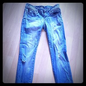 Bebe Low Rise Bootcut Jeans